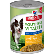 Hills Science Diet Youthful Vitality Mature 7+ Canine  Stew 345g