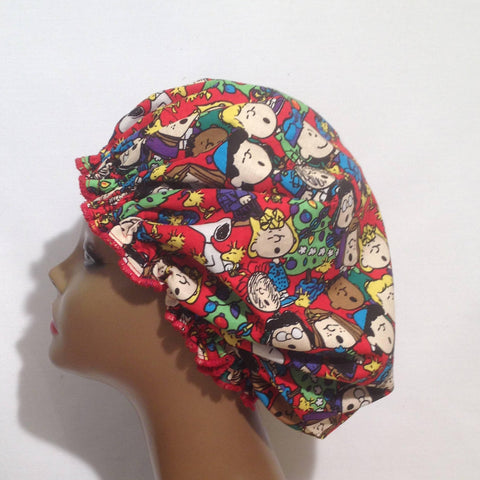 A Charlie Brown Christmas Satin Lined Bonnet (Regular Size)