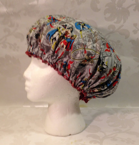 Justice League Ladies Satin-lined Bonnet