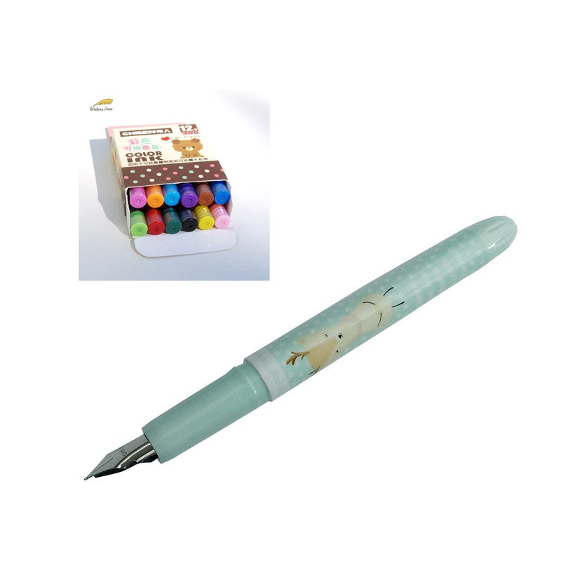 Some creative Plastic Fountain Pens now in store!