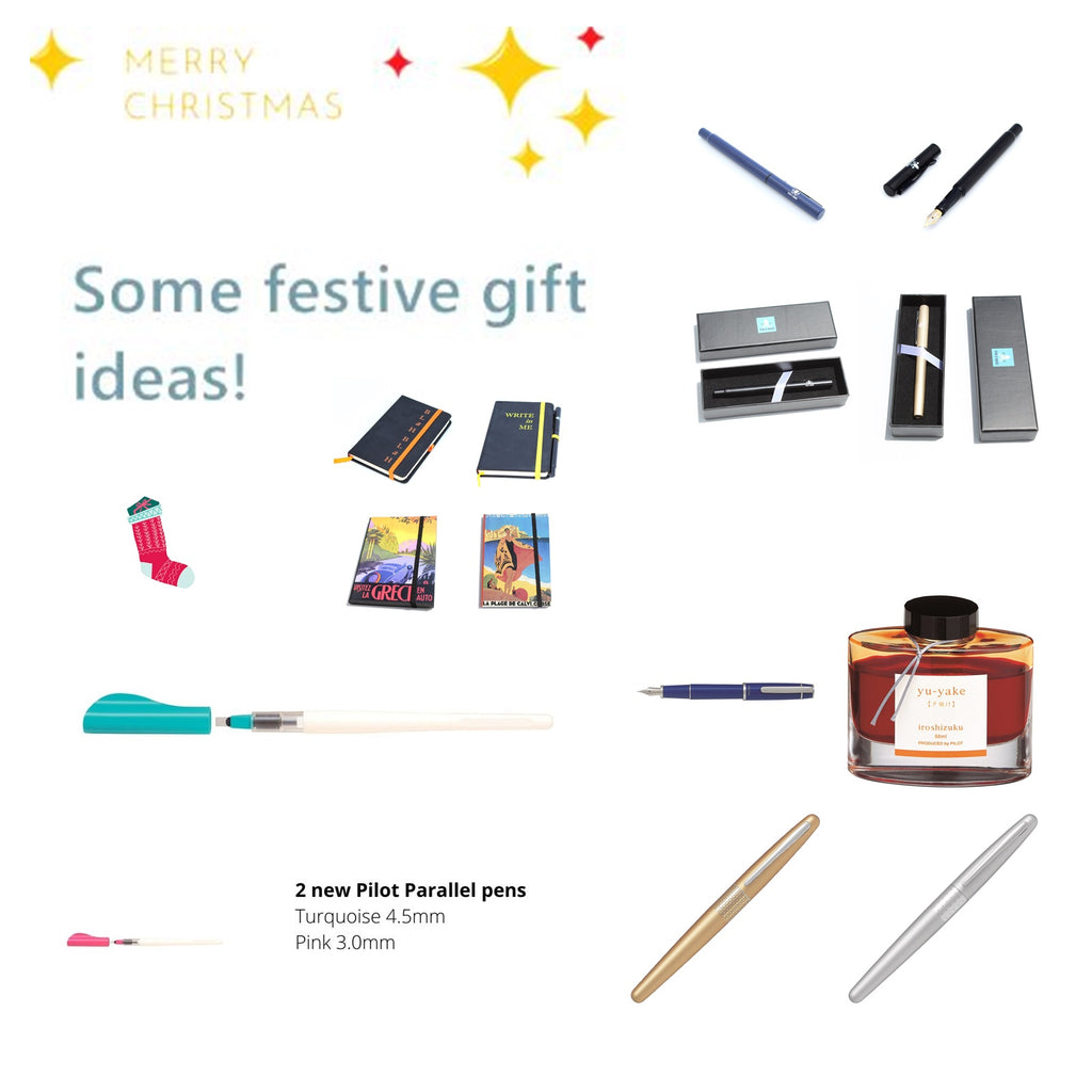 Pen and Ink Gift Ideas for Writers and Friends - Christmas 2020
