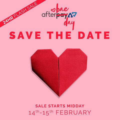 Afterpay Save the Date