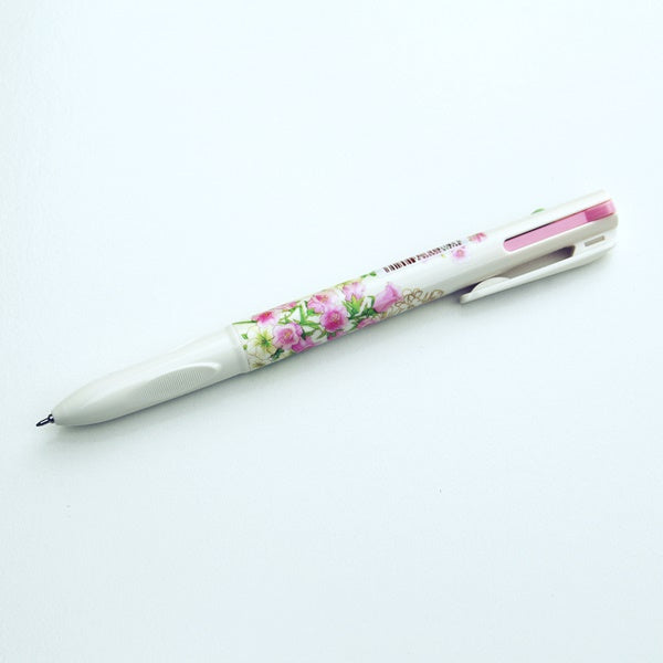 Multi Colour Ballpoint Pen - Contains Blue, Pinky-Red and Green 3 Colours in 1