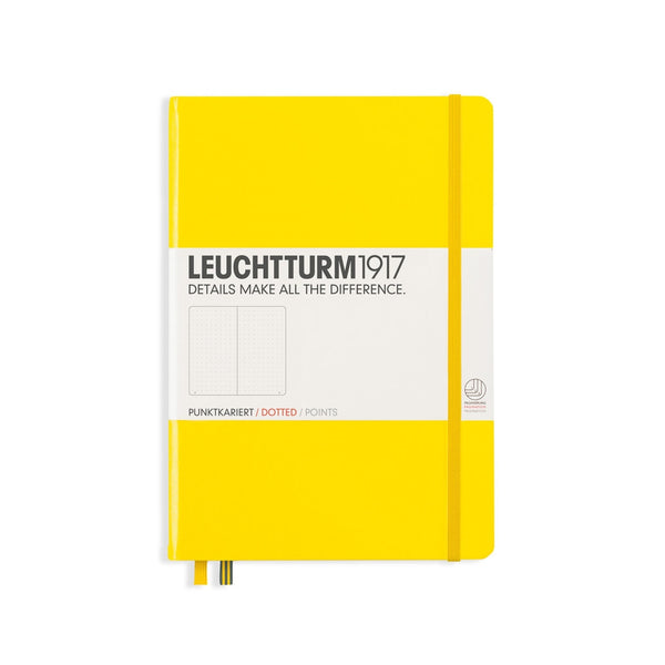 Leuchtturm1917 Notebook A5 Hardcover Medium - Dotted - Various Colours