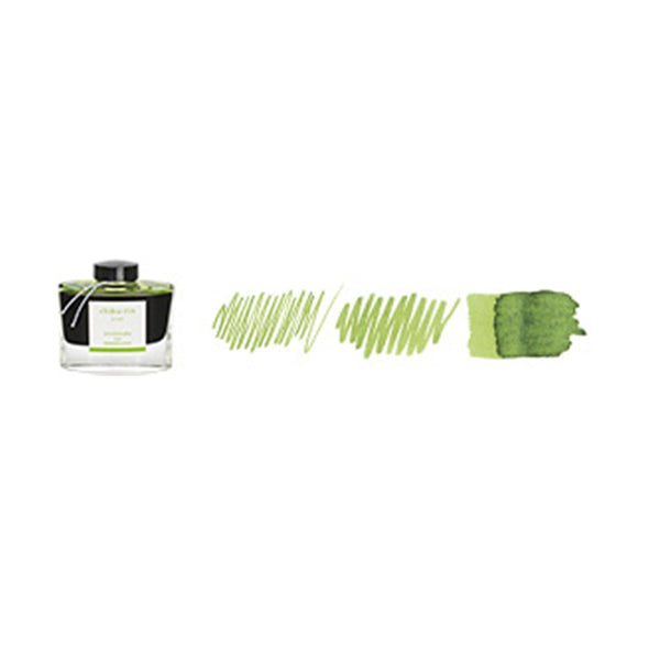 Pilot Iroshizuku 50ml ink bottle for fountain pens: chiku - rin (bamboo forest)