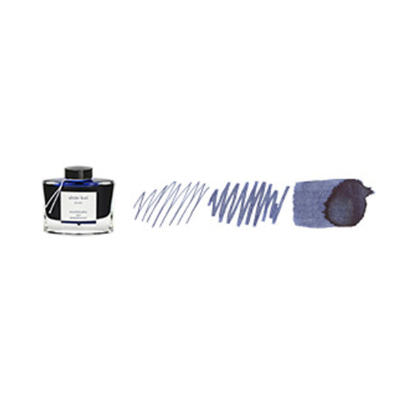 Pilot Iroshizuku 50ml ink bottle for fountain pens: shin - kai (deep sea)