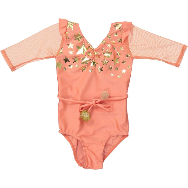 Violetta Leotard - Peach