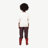 Camel Kids Pants - Maroon