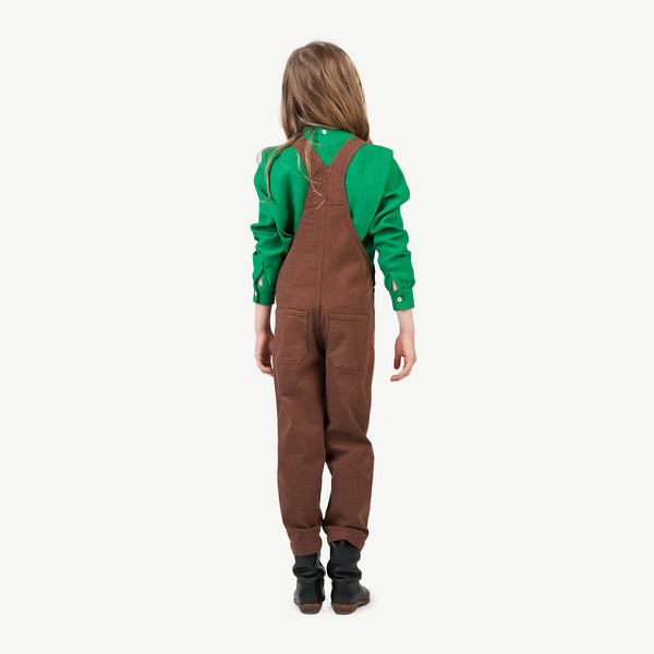 Green Cuckoo Kids Shirt - Green Grass Logo