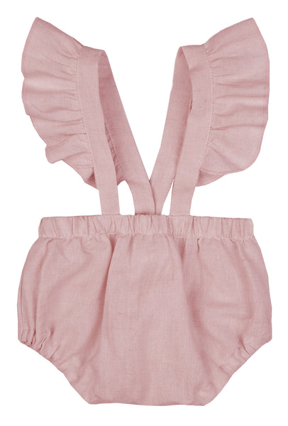 Paola Romper Pants - Rose