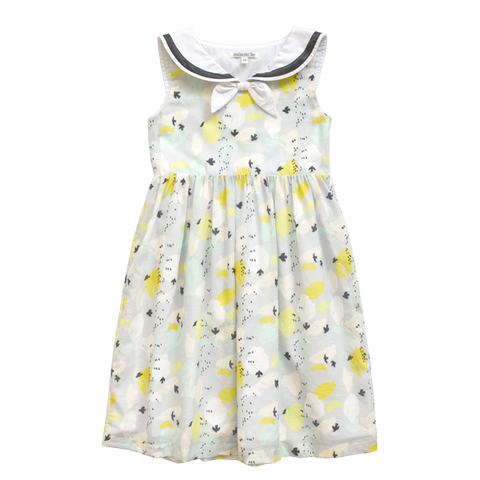 Olivia Sailor Dress - Flight Print