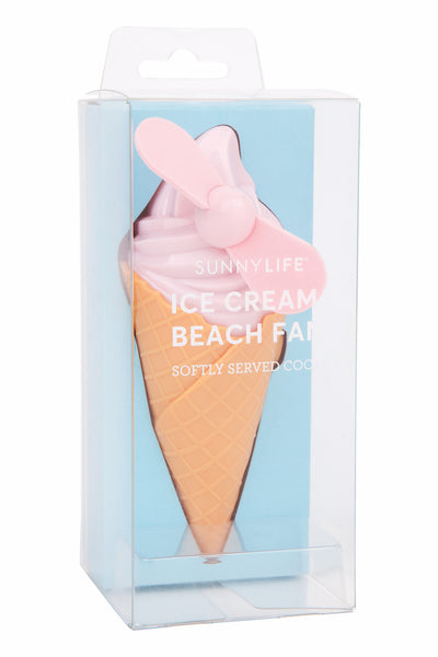 Beach Fan Ice Cream Assort - Pink