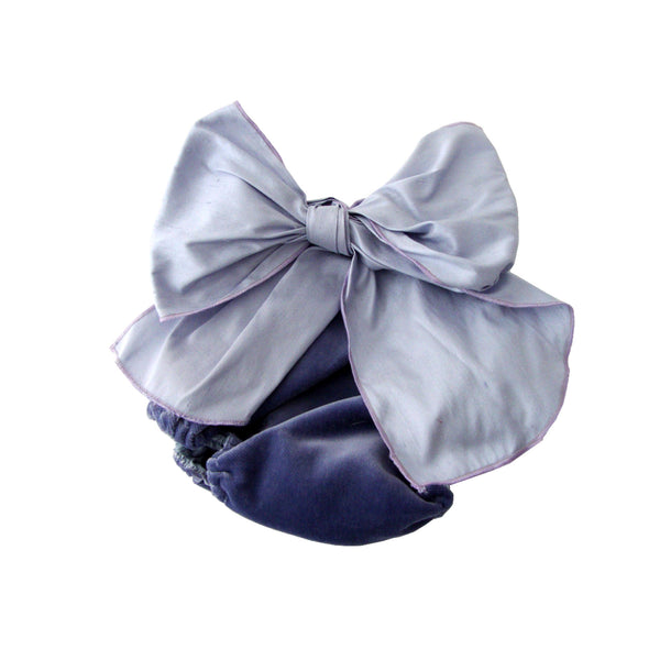 Bow Bloomers - Navy/Blue
