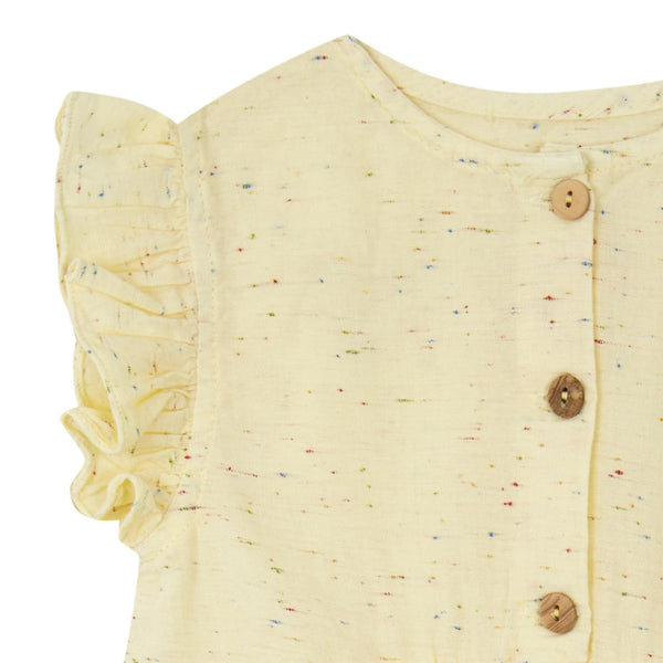 Button Camisole - Yellow