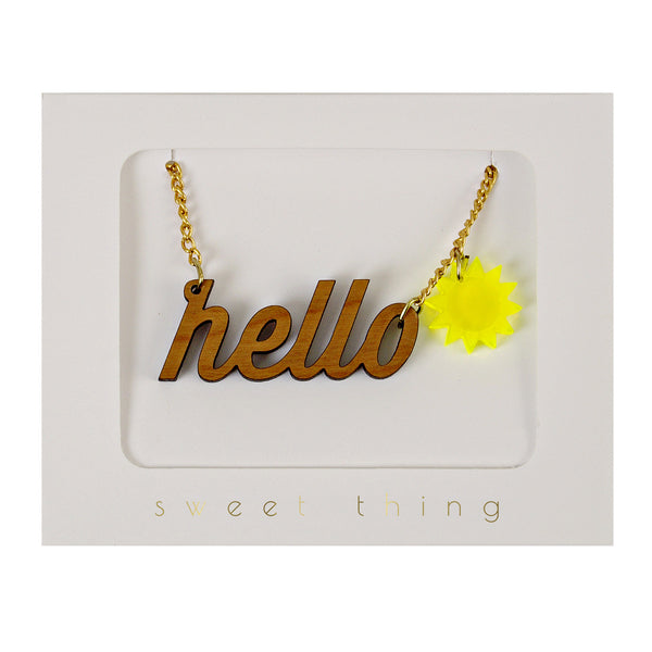 Necklace - Hello Sunshine