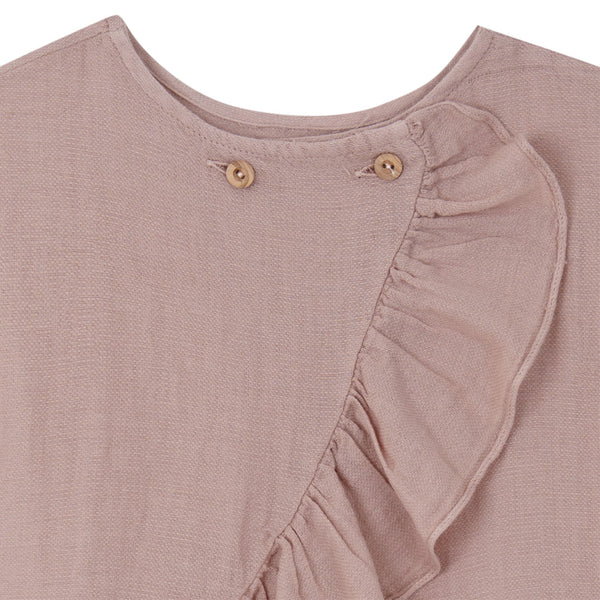 Cross Blouse - Pink