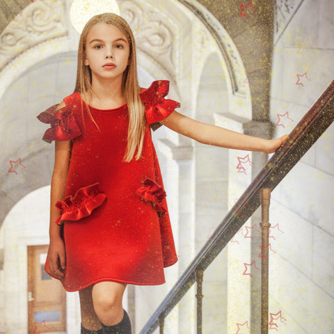 CHRISTMAS DRESS - RED