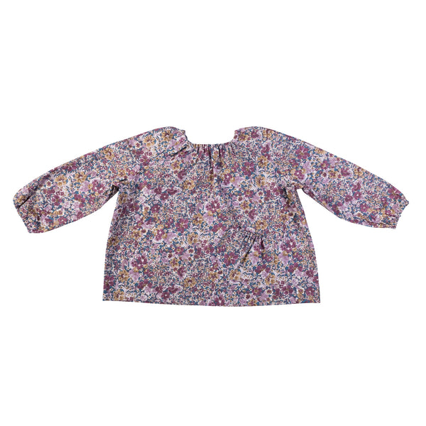 Astrid Blouse - Pomegranate