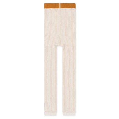 Riser Cable Legging - Cream
