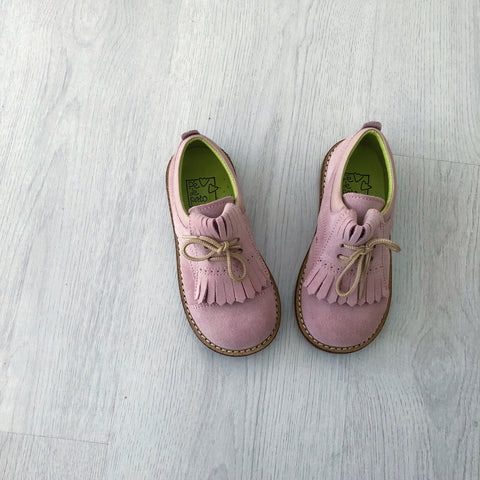 Suede Shoes - Light Pink
