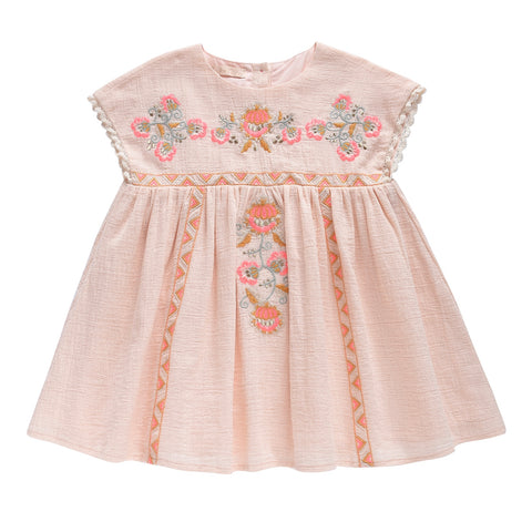 Oleste Dress - Blush