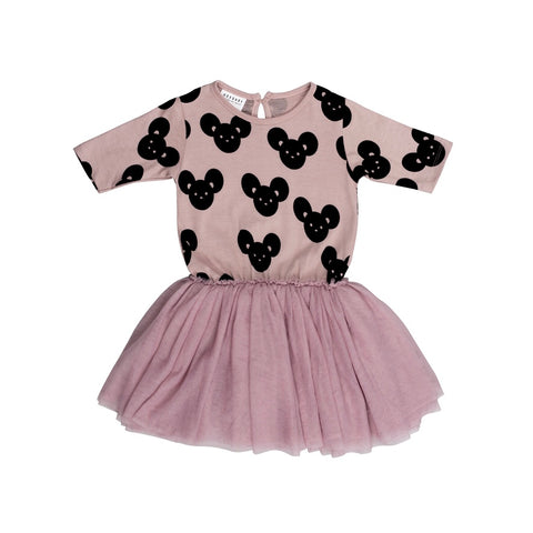 Mouse Ballet Dress - Plum
