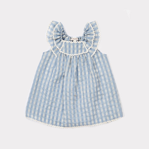 Perspa Baby Dress - Pale Blue