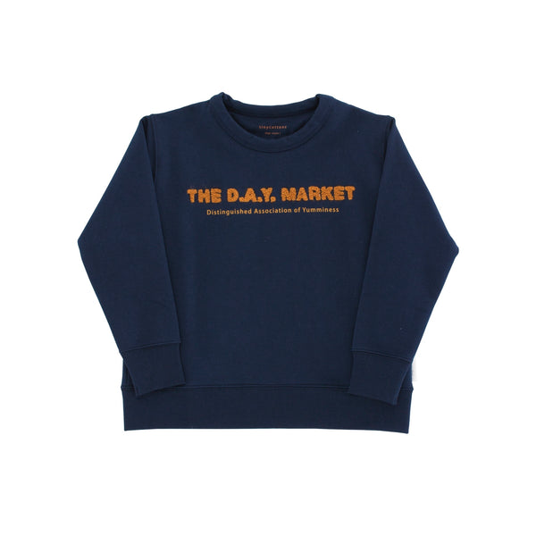 Graphic Sweatshirt - The Day Market/Navy