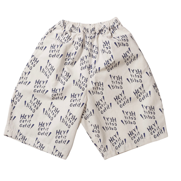 Culotte - White/Navy