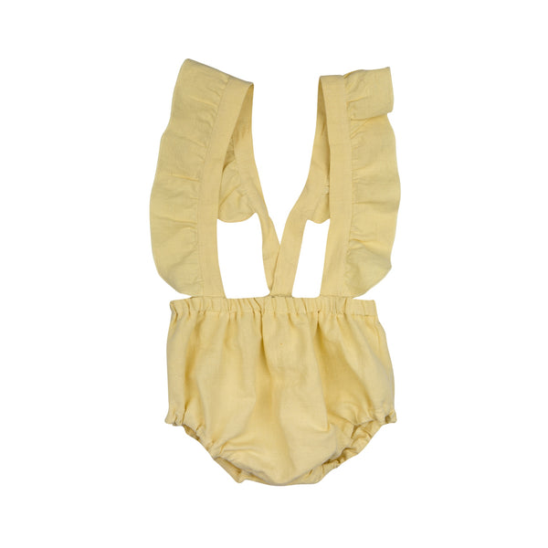 Paola Romper Pants - Yellow