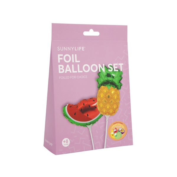 Small Foil Balloons - Fruit Salad