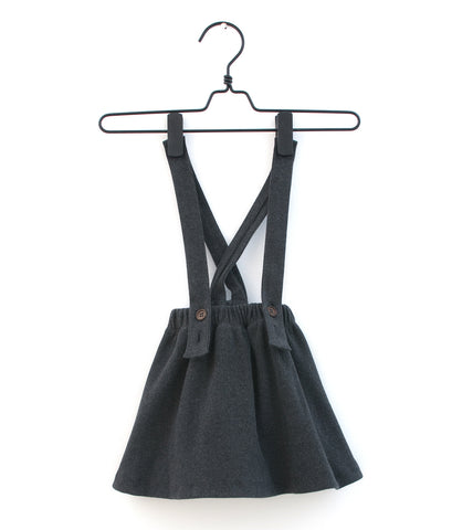 Anthracite Pinafore Dress
