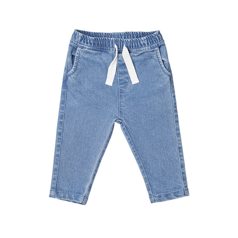 Denim Relaxed Pants