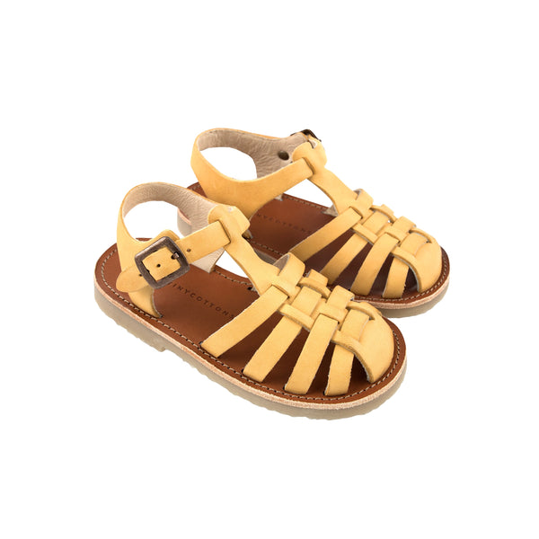 Braided Sandals - Canary