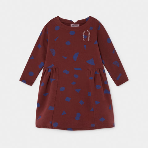 Fleece Dress - All over stuff