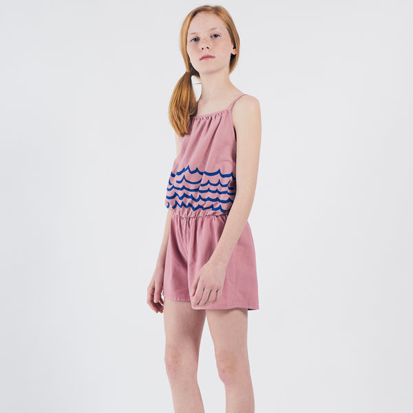 Woven Playsuit - Waves