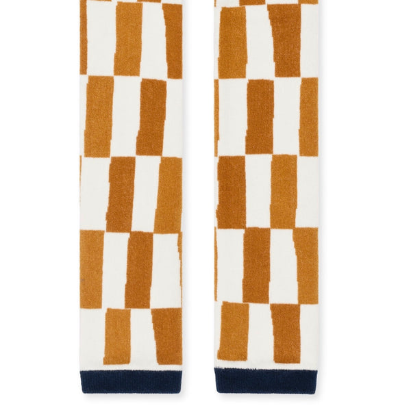 Mini Chucks Leggings - Ivory/Mustard
