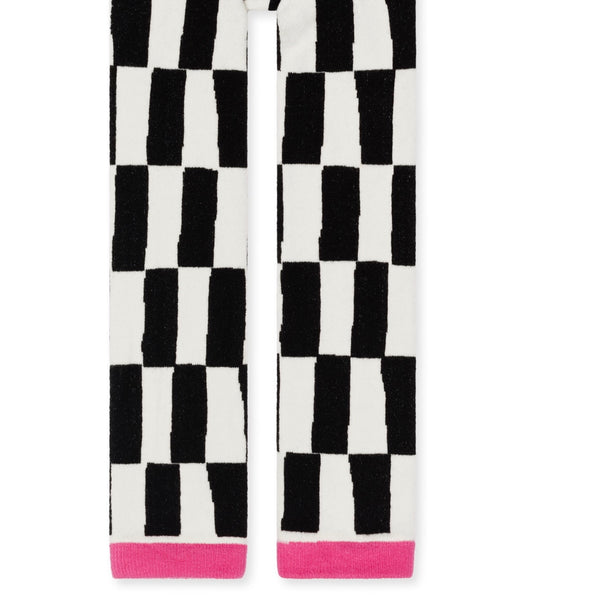Mini Chucks Leggings - Ivory/Black