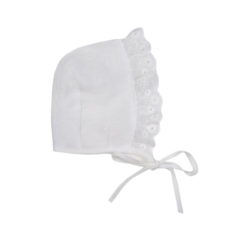 Paris Bonnet - White