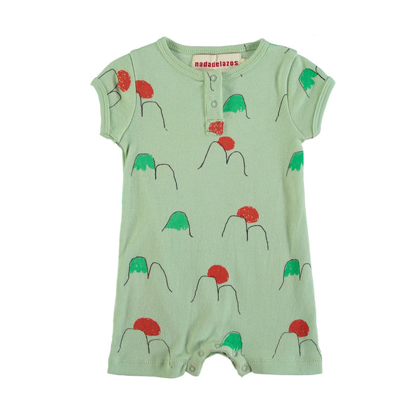 Alps Romper - Light Green
