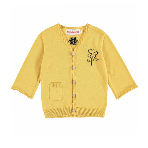 Madi Knitted Jacket - Amar Yellow