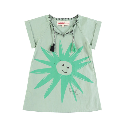 Alm Tunique Dress - Light Green