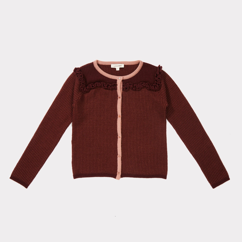 6c22e7725 Hummingbird Cardigan - Burgundy