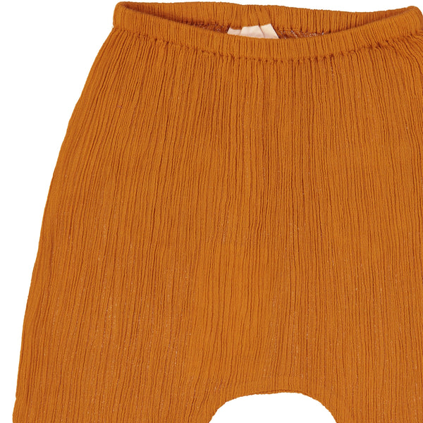 Jungle Trousers - Cognac Crepe