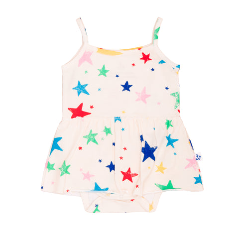 Tank Body With Skirt - Stars