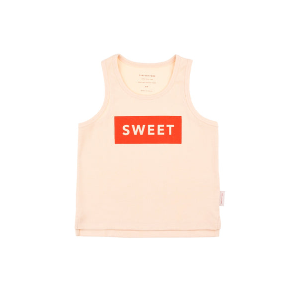 Sweet Crop Tank Top - D2
