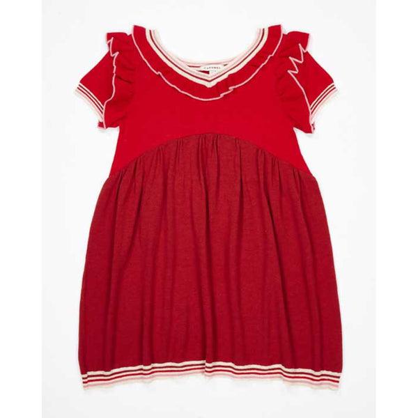Foxglove Knitted Dress - Berry
