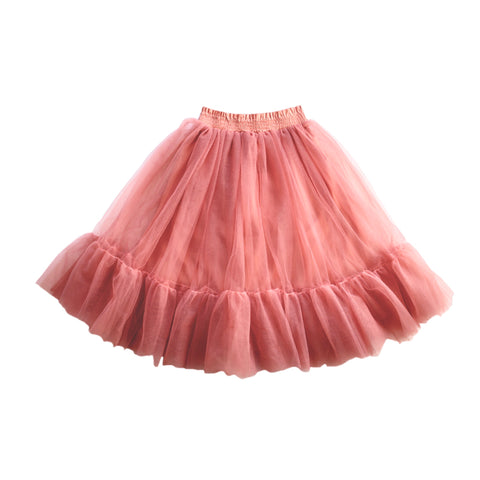 Romantic Ruffle Tutu - Burnt Fig