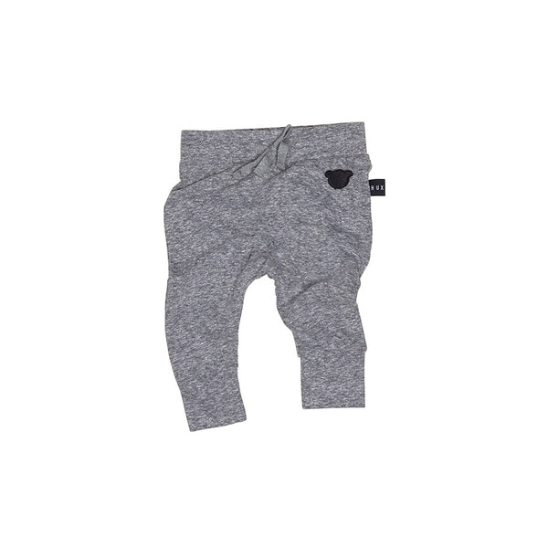 Charcoal Slub Drop Crotch Pant - Charcoal Slub
