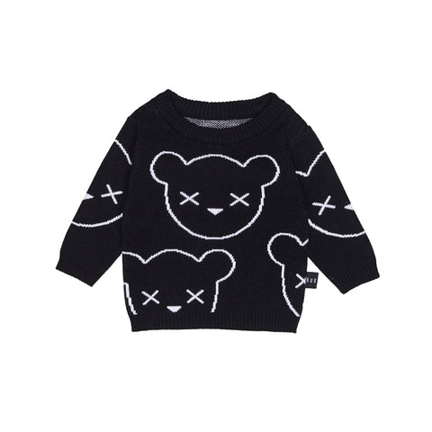 Unbearable Knit Jumper - Black